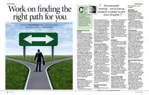 Tracy Dempsey's wellbeing column in the Irish Sunday Mirror - long-term job-hunting
